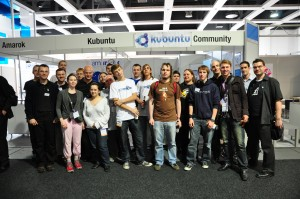 Gearheads at Linuxtag