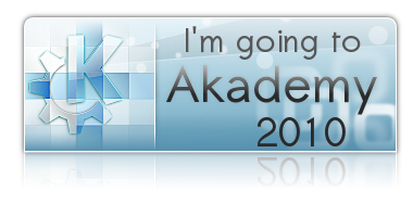 I'm going to Akademy