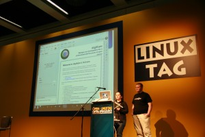 Harald and Lydia - KDE multimedia talk